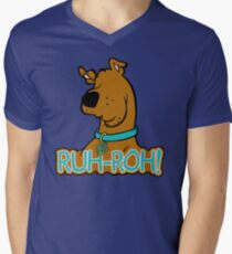 Ruh-Roh! Scooby Doo Men's V-Neck T-Shirt