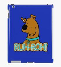 Ruh-Roh! Scooby Doo iPad Case/Skin