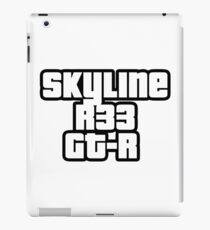 Skyline R33 GT-R iPad-Hülle & Skin