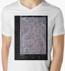 USGS TOPO Map Idaho ID Goodwin Meadows 20110125 TM Inverted T-Shirt