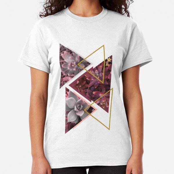 Wine Succulents #redbubble #decor #buyart Classic T-Shirt