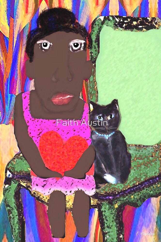 Mrs. Jones and Bebop the Cat by Faith Magdalene Austin