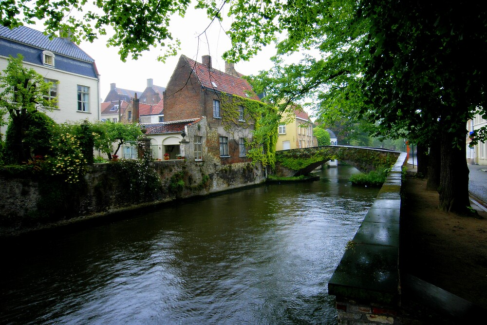 Bridge of Bruges by Dean Symons