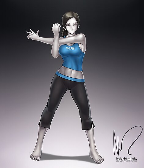 fit trainer Wii