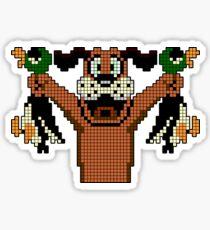 Duck Hunt - Video Game Dog Sticker