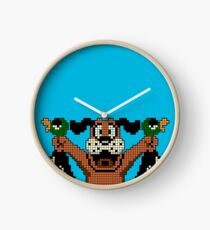 Duck Hunt - Video Game Dog Clock