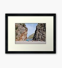 Torrent de Pareis, Majorca Framed Print