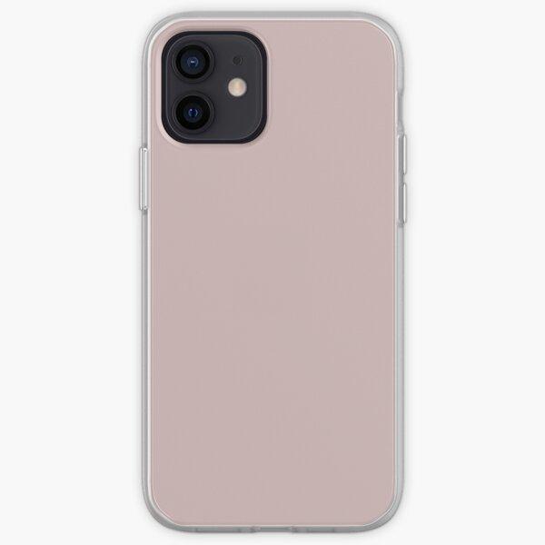 Dark Blush color  iPhone Soft Case