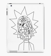 Rick and Morty science doodle iPad Case/Skin