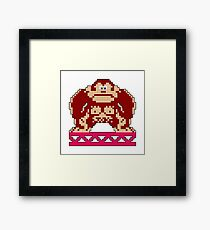 Donkey Kong Game Hero Framed Print