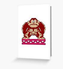 Donkey Kong Game Hero Greeting Card