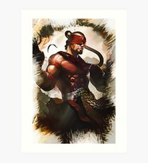League of Legends LEE SIN Art Print