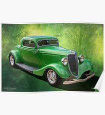 34 Coupe Poster