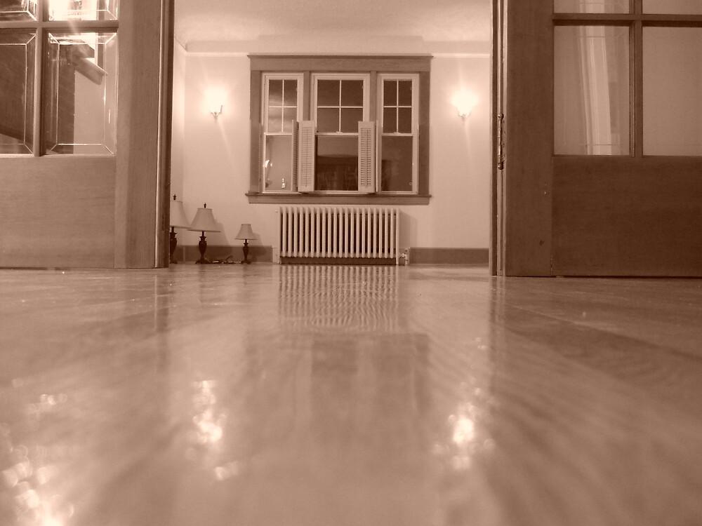 An angular floor by Megan Smith