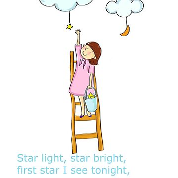 Star Light Star Bright Poem by Whimsydesigns
