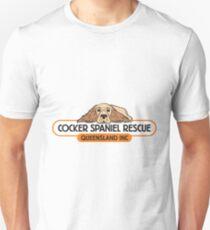 Cocker Spaniel Rescue QLD logo T-Shirt