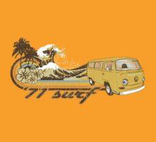 Volkswagen Kombi Tee shirt - 71 Surf