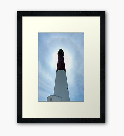 Old Barney & The Halo Framed Print