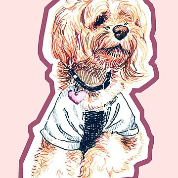 Pretty in Pink Pup by srw110
