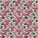 Too Many Birds! - Pink Parrot Posse! by MaddeMichael