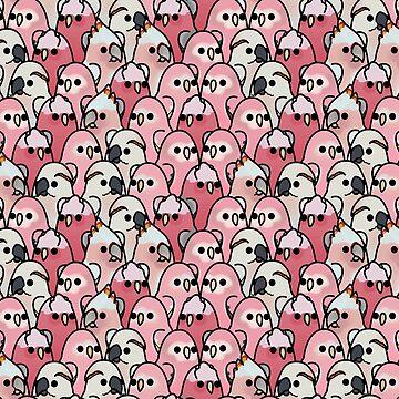 ¡Demasiadas aves! - Pink Parrot Posse! de MaddeMichael