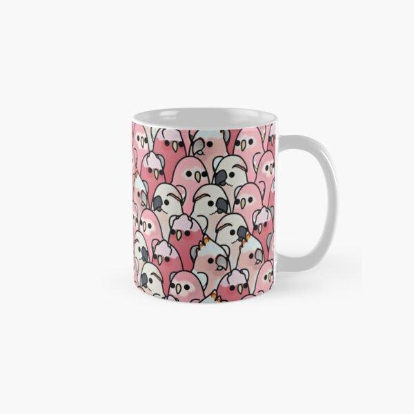 Too Many Birds! - Pink Parrot Posse! Classic Mug