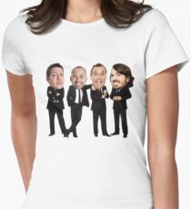 Impractical Jokers Bobbleheads Women's Fitted T-Shirt