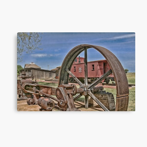 Choctaw Oklahoma & Gulf Railroad Co. Canvas Print