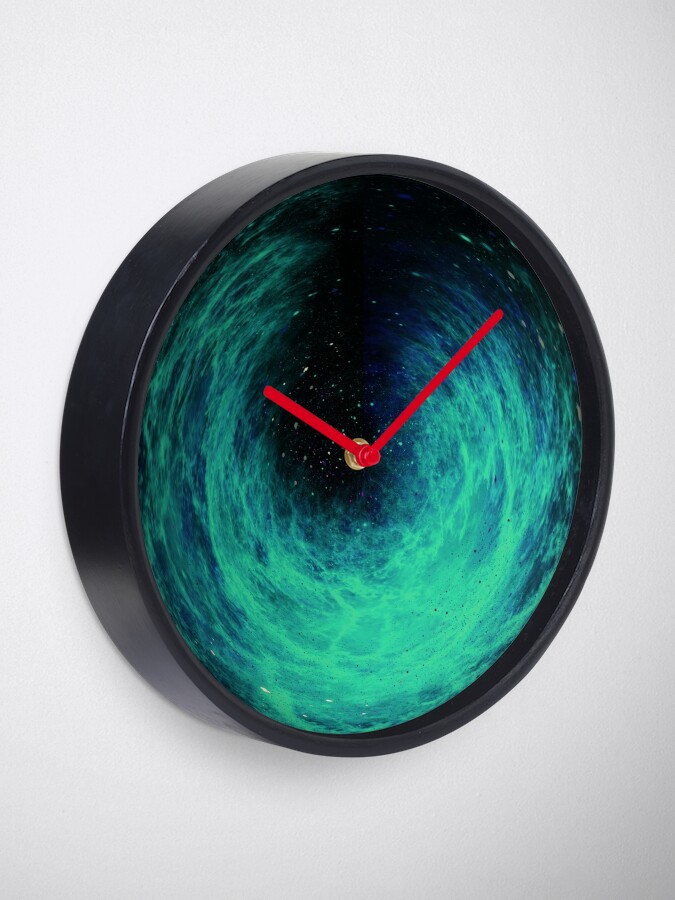 Alternate view of Black Space Clock