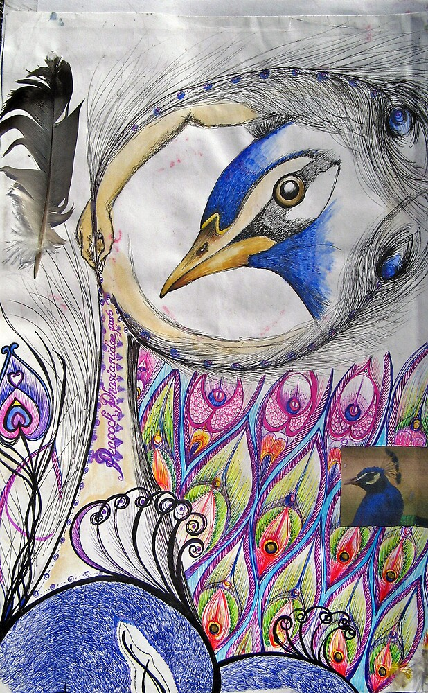 PEACOCK PAGE by rudledge