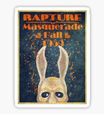 Bioshock: Rapture masquerade ball 1959 Sticker