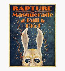 Bioshock: Rapture masquerade ball 1959 Photographic Print