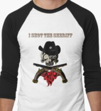 I Shot The Sheriff Men's Baseball ¾ T-Shirt