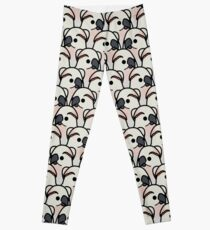 Too Many Birds! - Moluccan Cockatoo Leggings