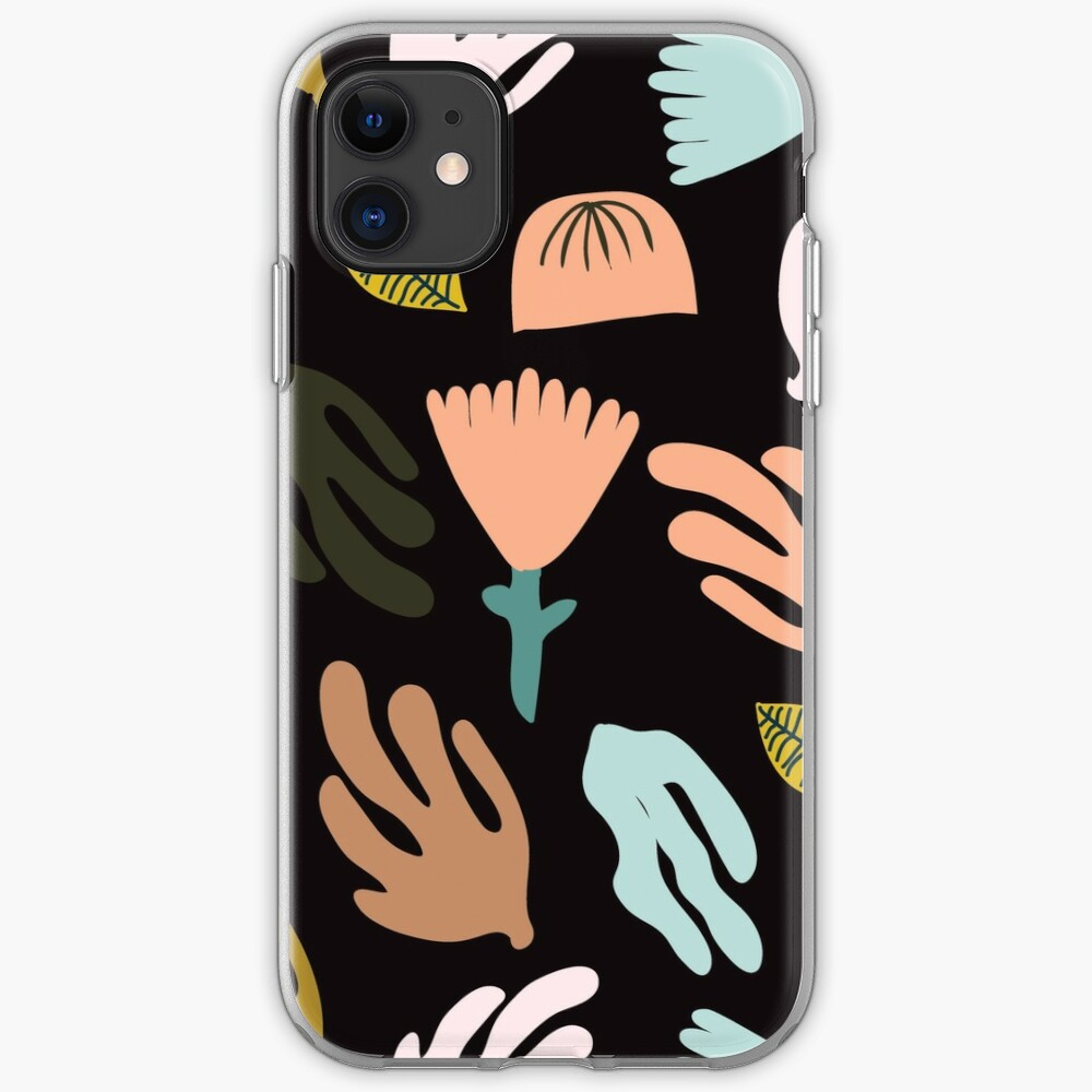 Night Garden - inspired by Matisse iPhone Soft Case