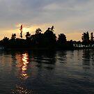 Thousand Island Sunset by artgoddess