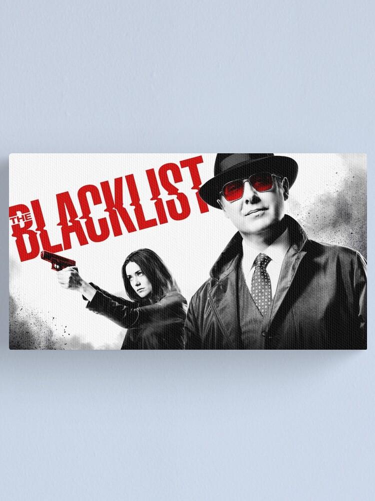 Alternative Ansicht von Die Black List Serie 2017 Designs Leinwanddruck