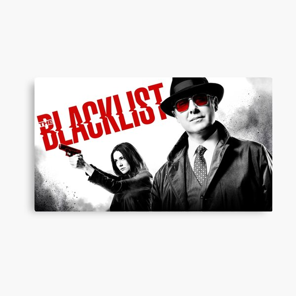 The Black List Serie 2017 Conceptions Impression sur toile