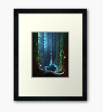 paysage by remsoun Framed Print