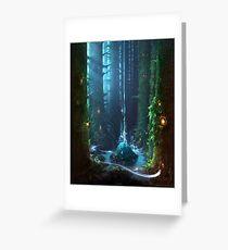 paysage by remsoun Greeting Card
