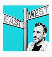 John Steinbeck | Digital Collage Photographic Print