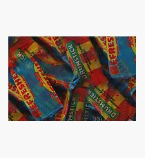 Refreshers - retro sweets Photographic Print