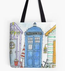 Who's on holiday Tote Bag