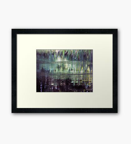 French Ripples Framed Print