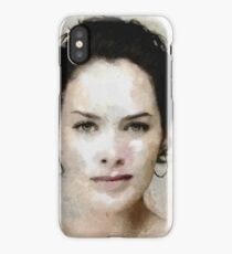 Lena iPhone Case/Skin