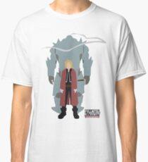 Fullmetal Alchemist Brotherhood   Minimalist Elric Brothers Classic T-Shirt