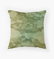 Autumn Marble Pattern 4 Throw Pillow