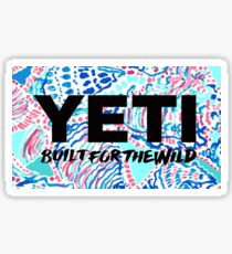 Lilly Yeti Sticker
