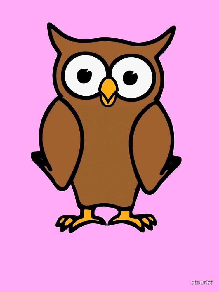 Alvin the Owl by etourist