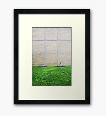 Squares Framed Print